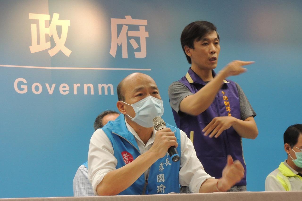 罷免投票結束 韓國瑜下午4點後將率團對向市民致意