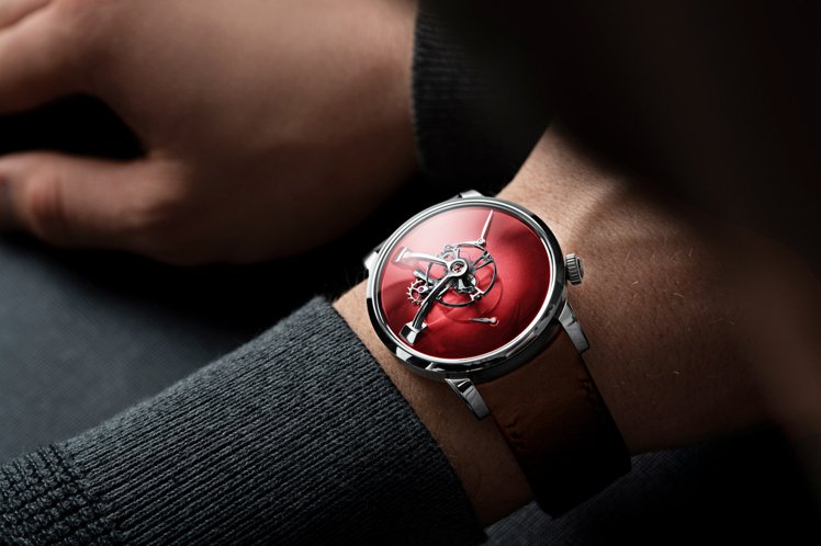 MB&F的「LM101 MB&F X H. MOSER」腕表,使用了H.Mose...