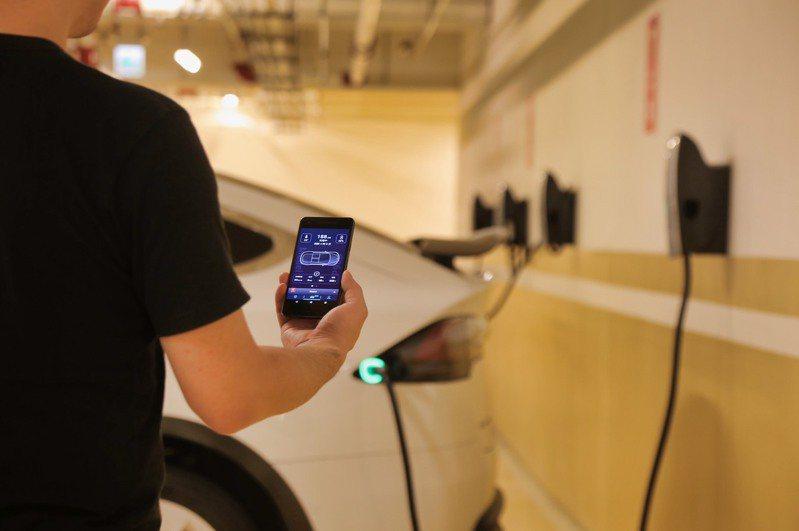 國泰金領先業界推出電動車車聯網區塊鏈金融平台。圖/國泰金提供