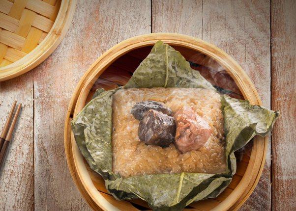 添好運「好運糯米雞粽」,2入1組惠價249元。圖/和億生活集團提供