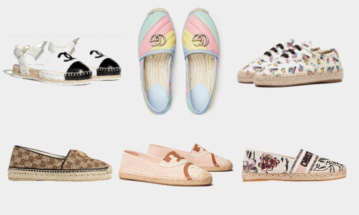 涼爽透氣的草編鞋最適合夏天了!圖/各品牌提供、摘自官網