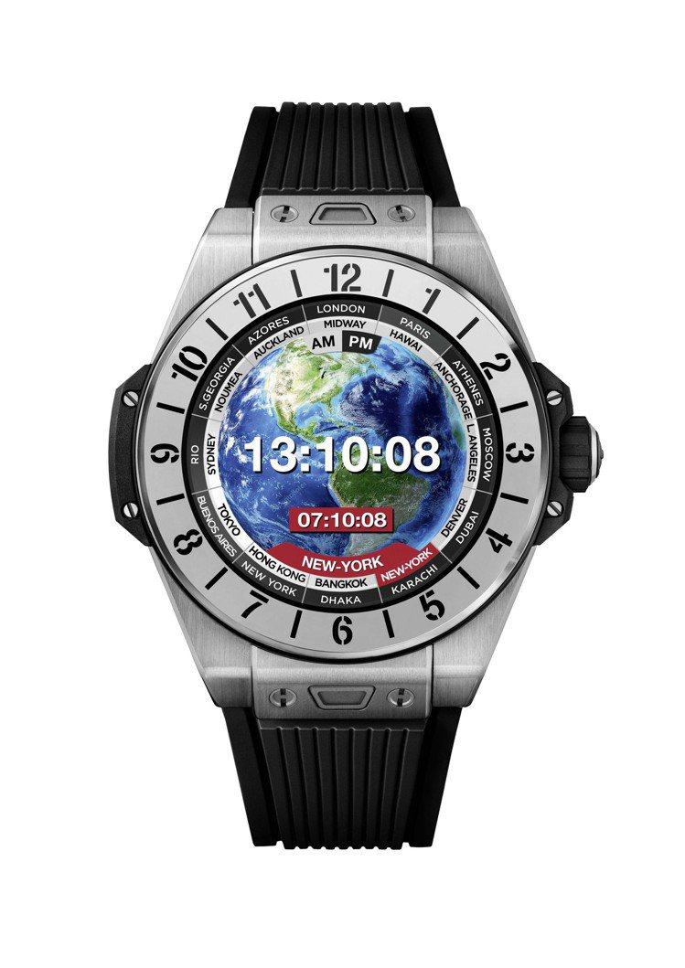 BIG BANG e智能腕表42毫米鈦金屬款,16萬1,000元。圖/宇舶表提供