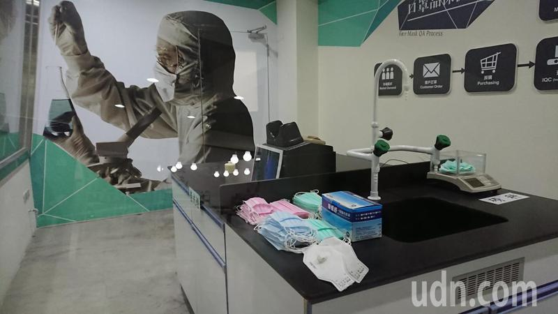 華新醫材集團6月6日將重新開放口罩觀光工廠,開放日當天出售500盒口罩。記者簡慧珍/攝影