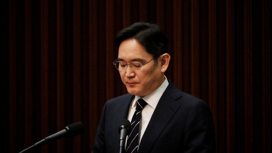 南韓三星集團繼承人李在鎔。  路透