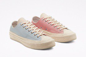 Converse帆布鞋玩馬卡龍配色 打造繽紛色調成女孩最愛