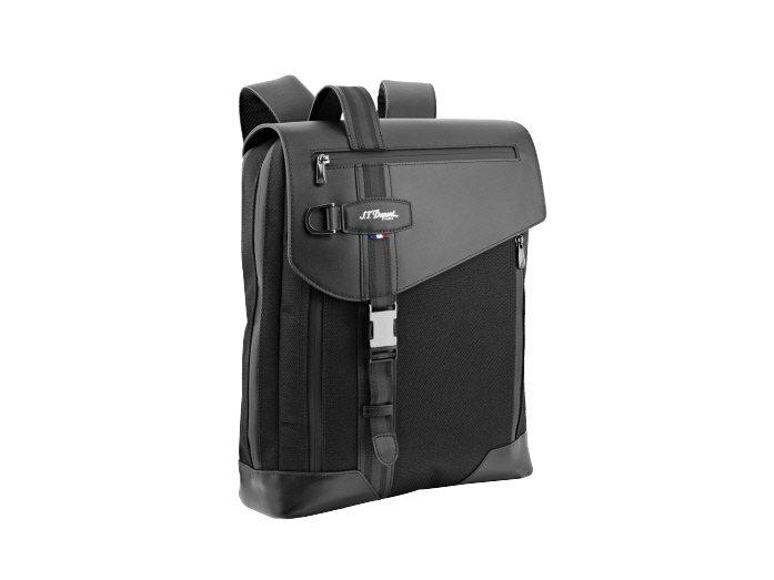 S.T. Dupont DÉFI MILLÉNIUM黑色背包,18,180元。圖...