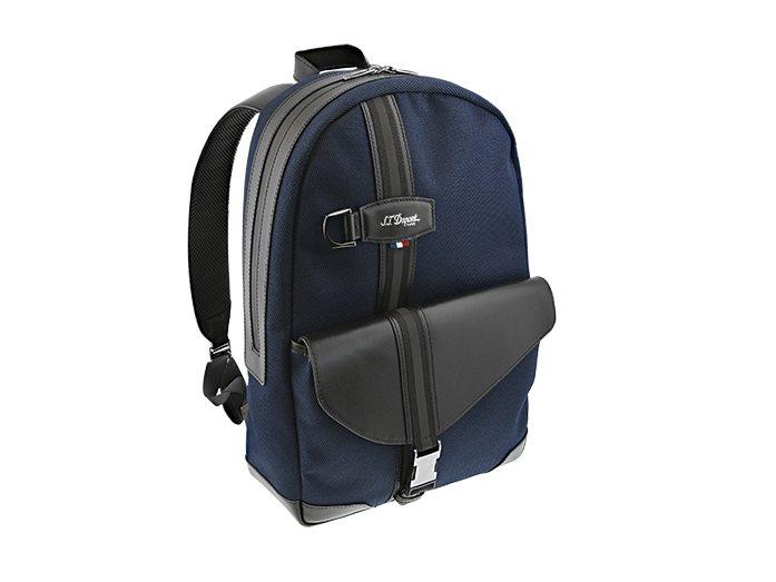 S.T. Dupont DÉFI MILLÉNIUM藍色圓形背包,14,470元...
