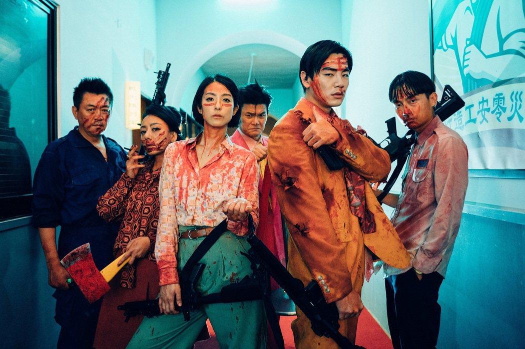「逃出立法院」將立法院變活屍戰場,賴雅妍霸氣上身。圖/台北電影節提供