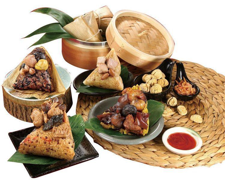 量販獨家組合「捷康特色三寶粽」6粒/包(泡菜燒肉X2、照燒鮮菇X2、薑黃十穀X2...