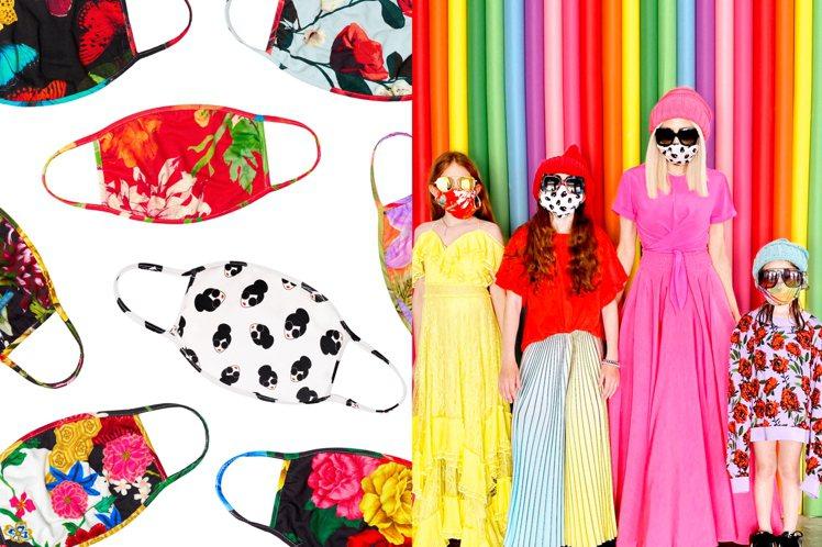Stacey Face時尚口罩6月5日起在台灣Alice + Olivia實體店...