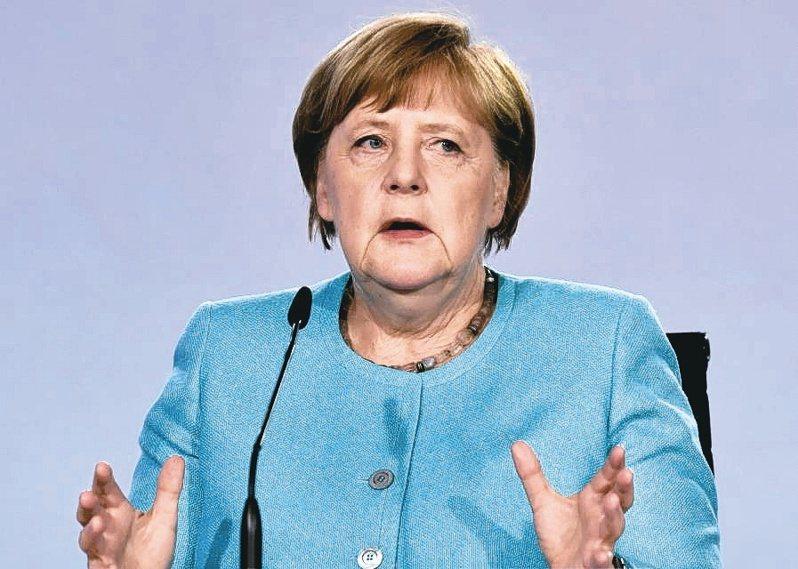 德國總理梅克爾(路透)