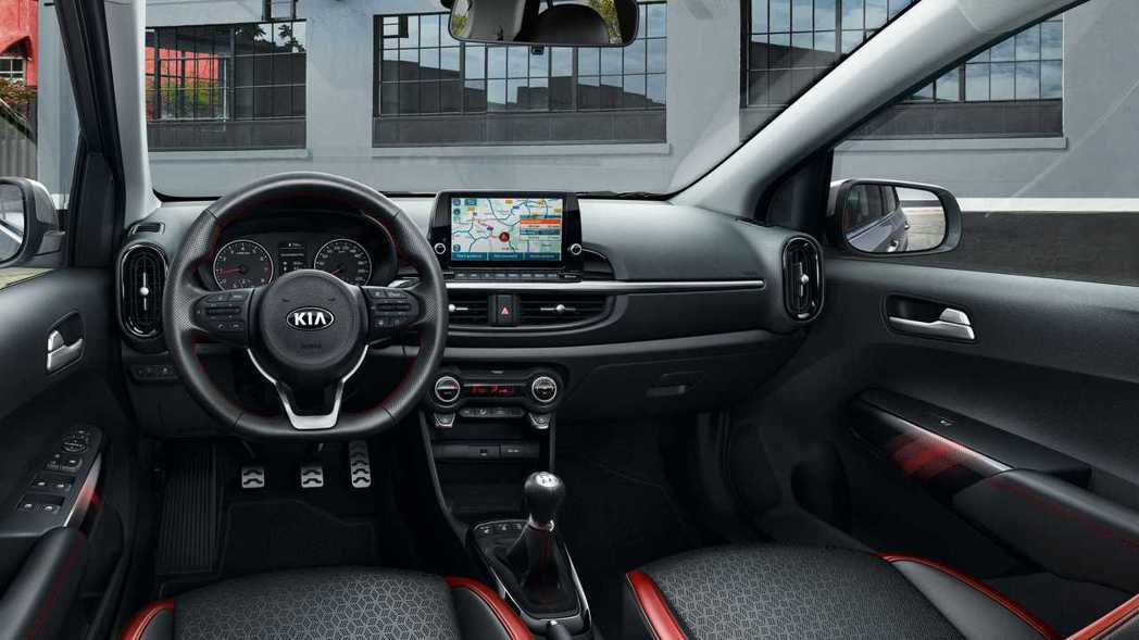 小改款歐規Kia Picanto GT-Line內裝。 摘自Kia