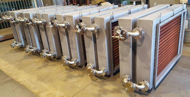 啟碩熱能公司新推出新型熱交換器(一)。 啟碩/提供