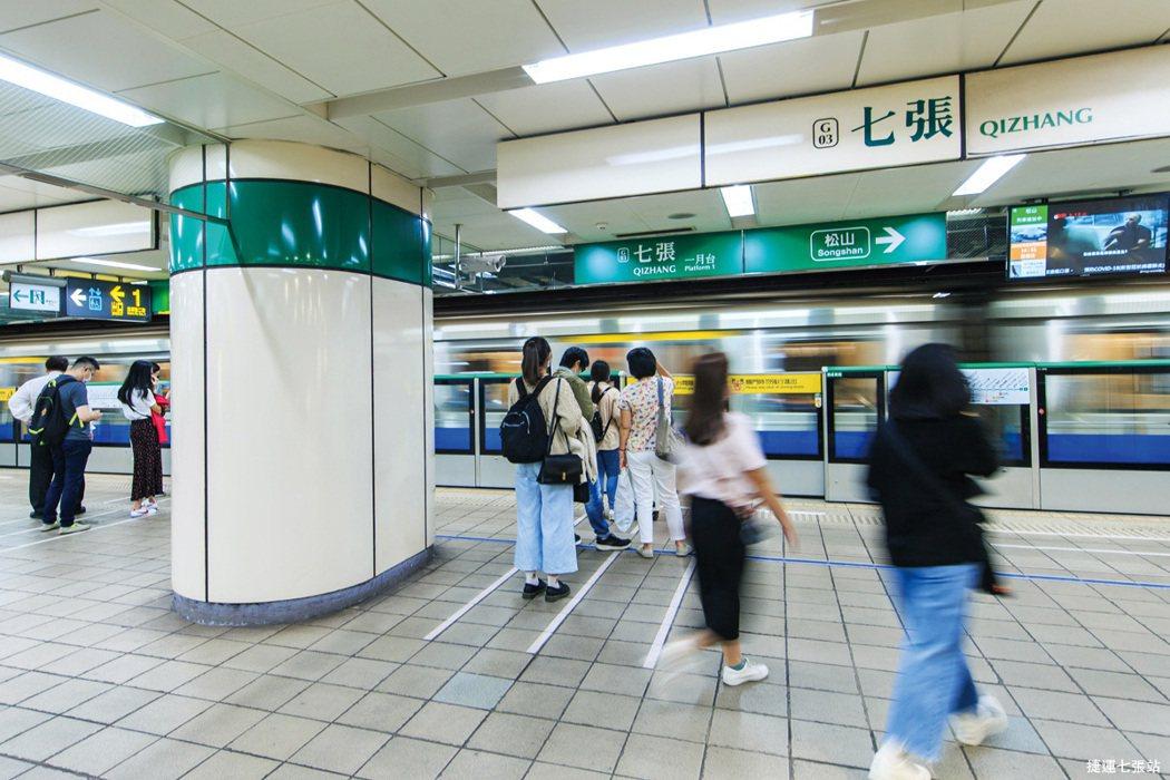 【璞御】坐擁先天地段優勢,步行6分鐘就到捷運七張站。 圖/海悅地產開發股份有限公...