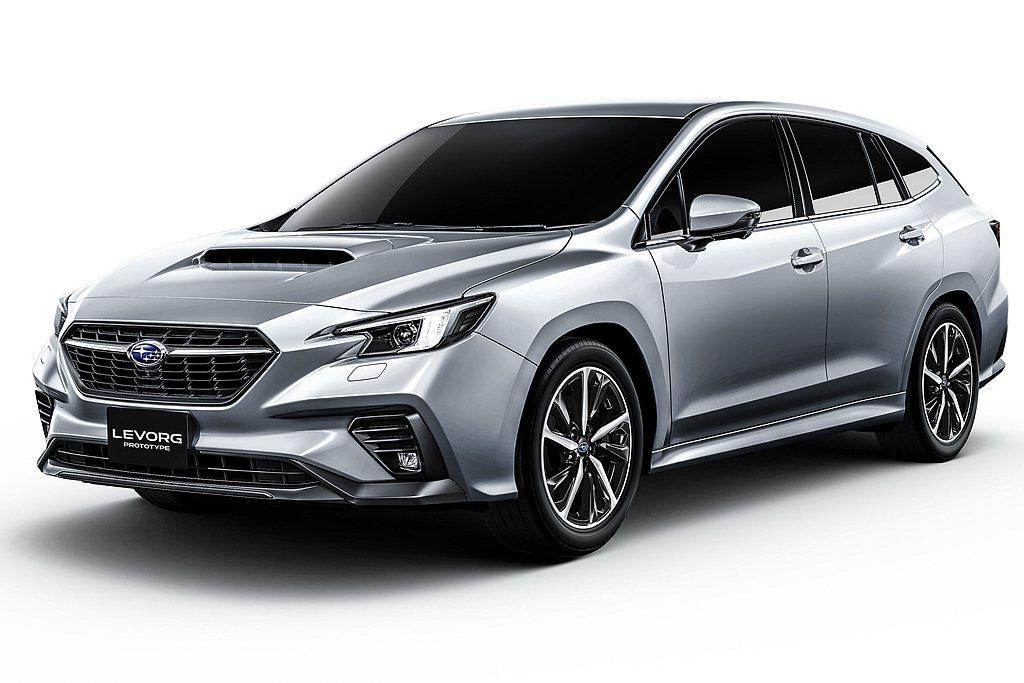 全新第二代Subaru Levorg外觀造型將延續概念車的設計走向,動力配置新世...