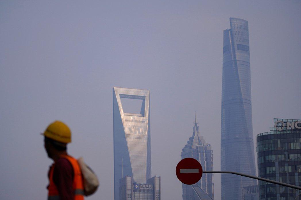 攝於上海。 圖/路透社