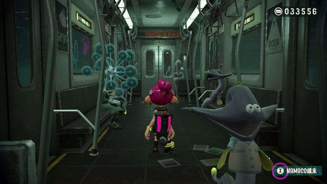DLC 場景發生在深海地鐵中,可以體驗到與本傳迥異之獨特風格冒險