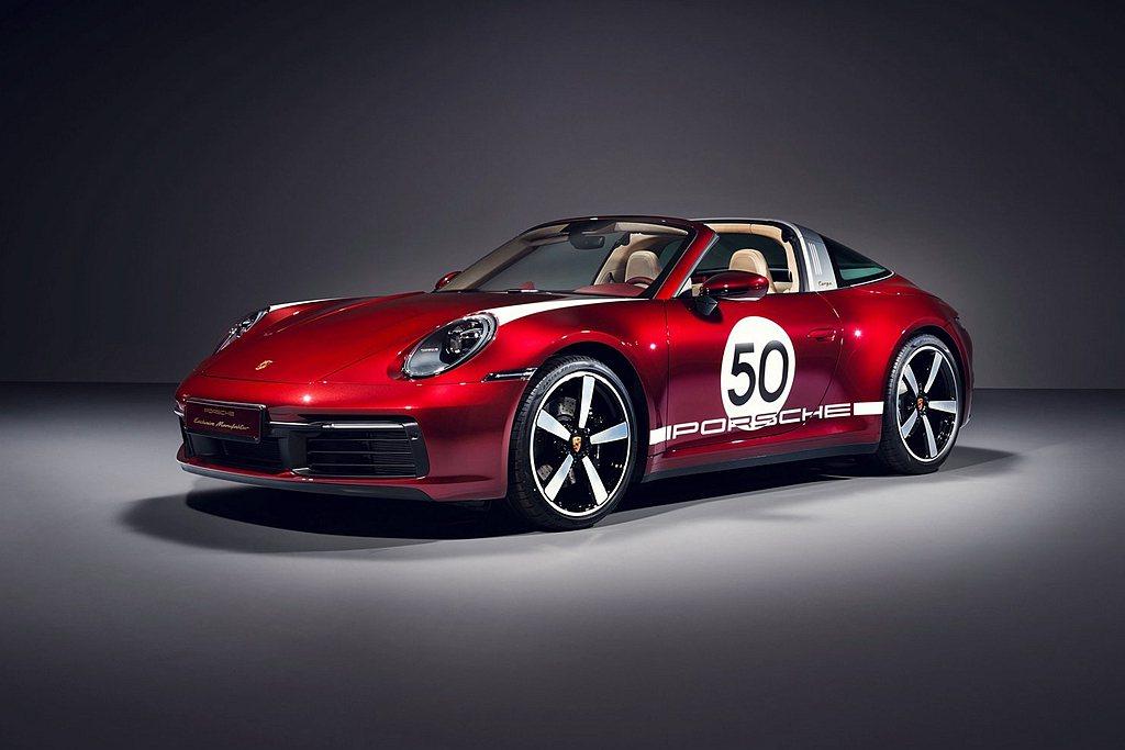 保時捷推出911 Targa 4S Heritage Design Editio...