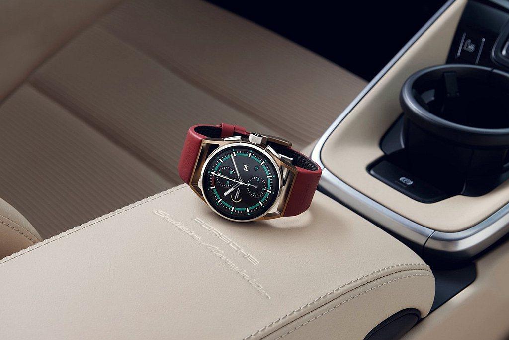 同名頂級腕錶設計靈感源自保時捷傳奇車款356與經典911 Targa的多處細節,...
