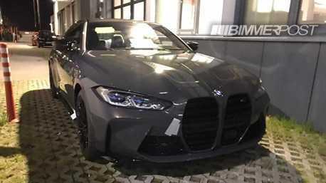 關鍵部件露出 新世代BMW M4 Coupe真的是巨大雙腎!