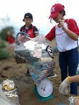 此次清除總計203公斤垃圾,50%為塑膠垃圾,而Club Med全球超過70間度...