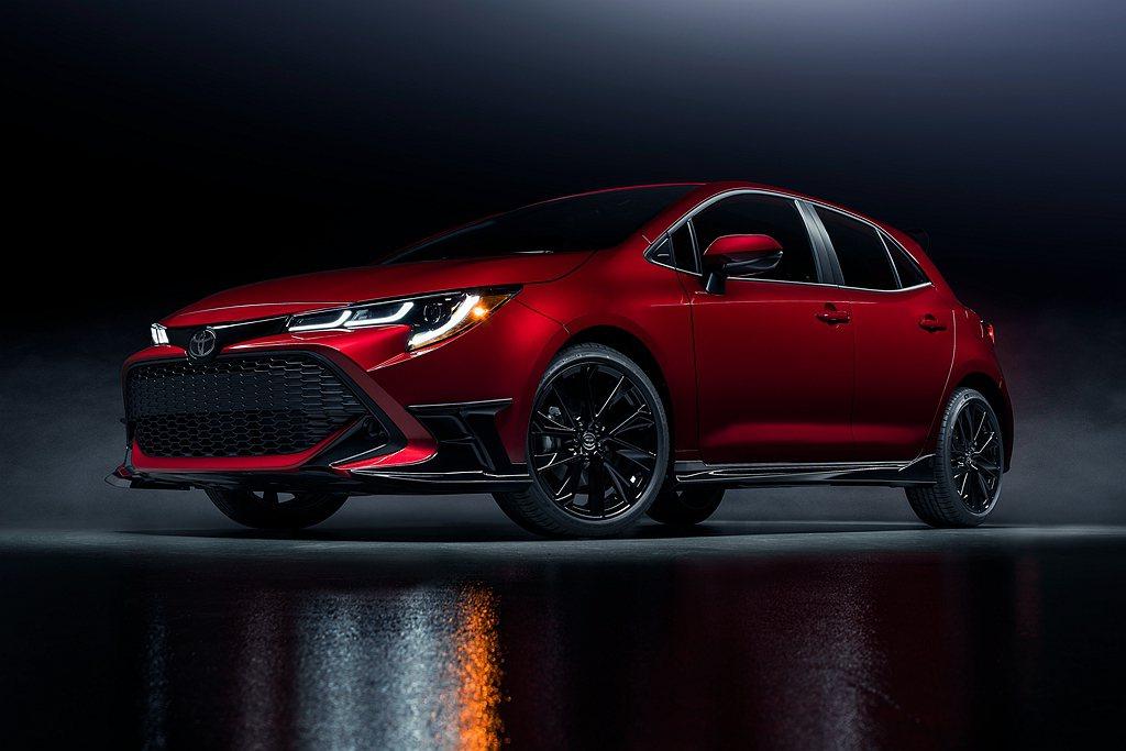 美國率先推出新年式Toyota Corolla Hatchback,並新增Spe...