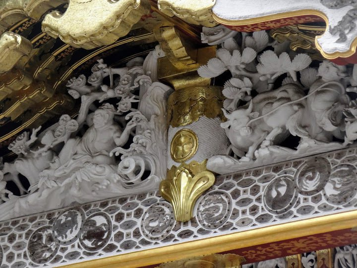 唐門門楣,「許由與巢父」的故事