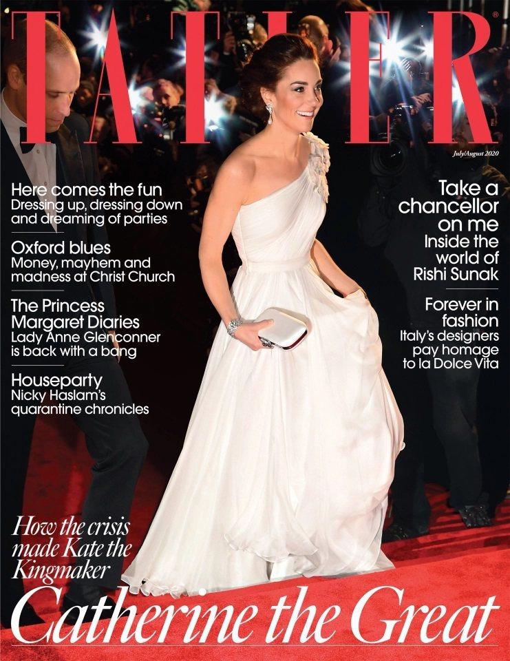 凱特對雜誌的報導不滿,發聲明反駁,捲入負面新聞風暴。圖/摘自Tatler