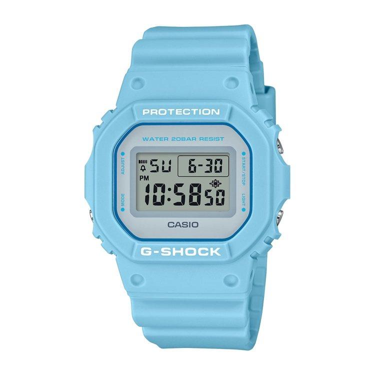 G-Shock DW-5600SC腕表3,000元。圖/Casio提供