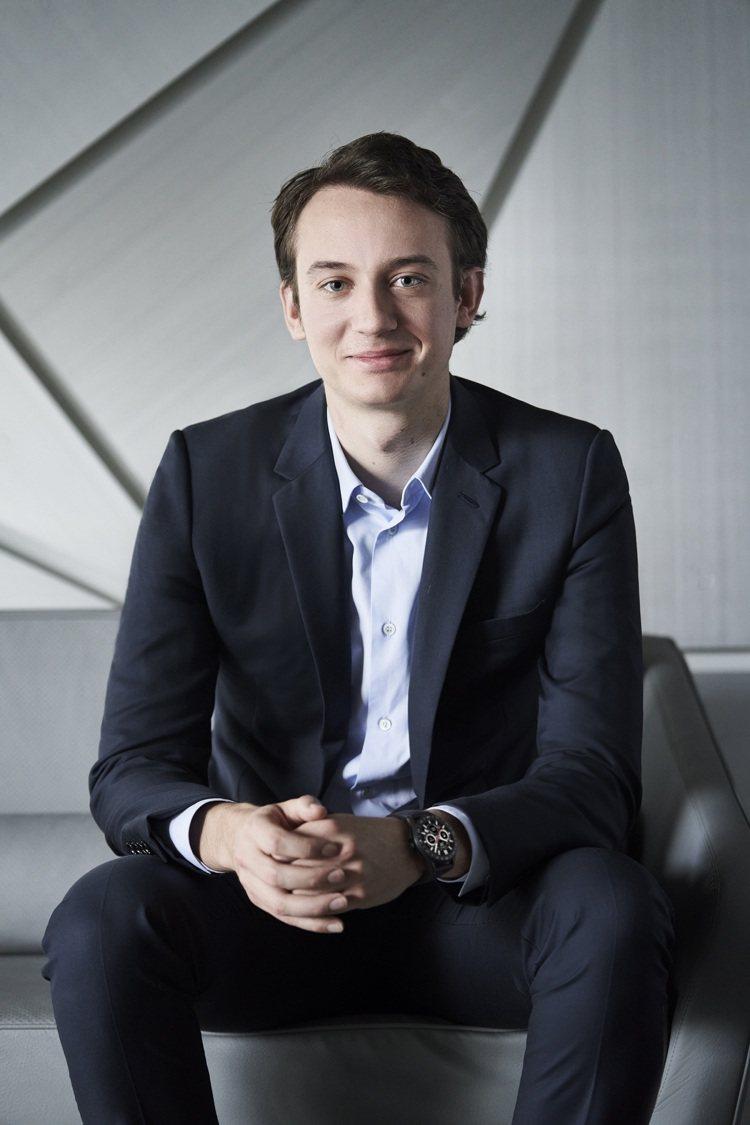 LVMH集團主席兒子Frederic Arnault正式成為泰格豪雅執行長。圖/...
