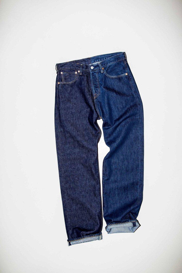 Levi's與Beams聯名系列501®原創直筒牛仔褲9,500元。圖/Levi...