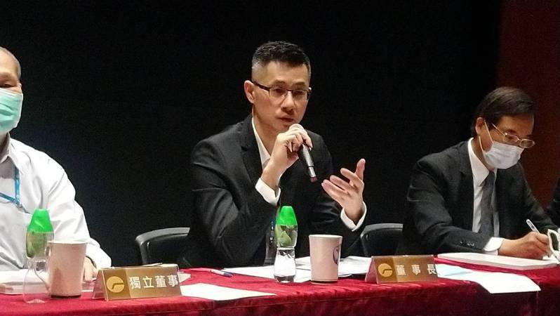 遠雄建設董事長趙文嘉。記者何醒邦/攝影