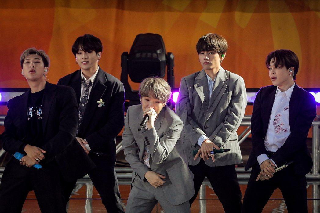 BTS征服美國,受邀參加不少節目演出。圖/路透資料照片
