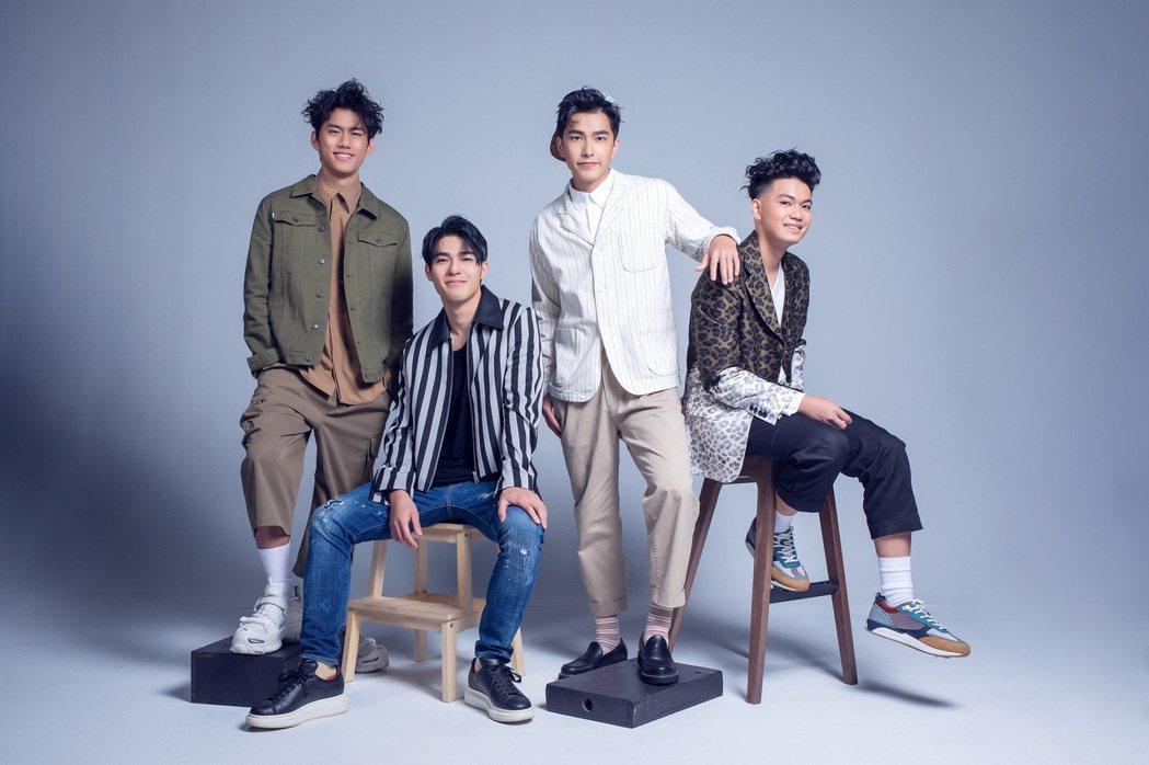 2020 非常新人左起:朱軒洋、陳昊森、曾敬驊、劉子銓。圖/台北電影節提供