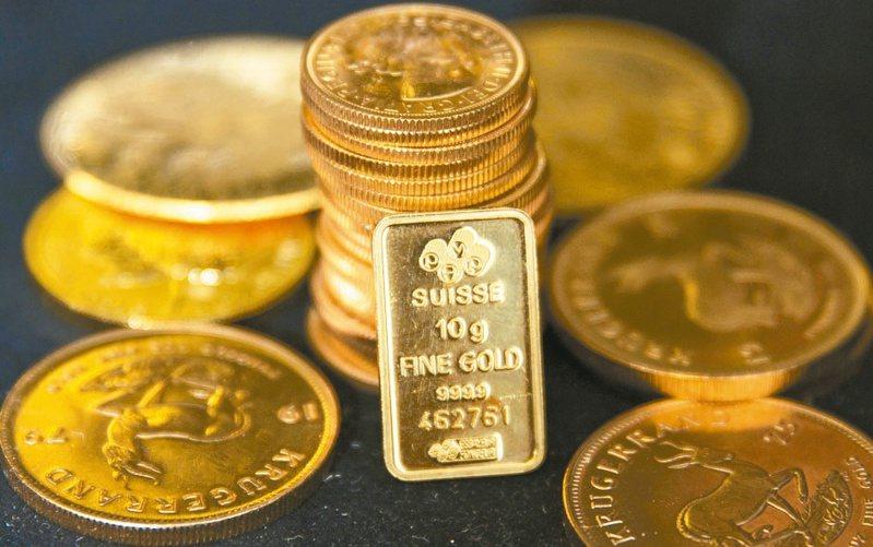 黃金現貨價格5日一度跌1.6%至每英兩1,686.95美元,本周至今下跌2.5%,為連續第三周下跌。 (路透)