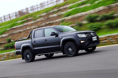 越野之外!福斯商旅Amarok V6 Black Edition試駕,個性黑無法擋