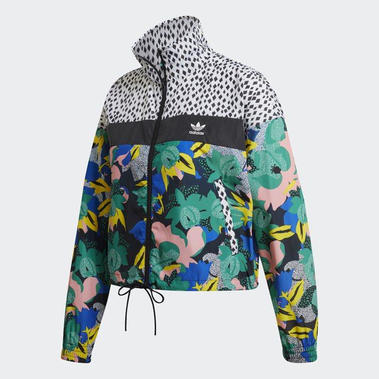 adidas Originals PRIDE系列女裝夾克2,890元。圖/adi...