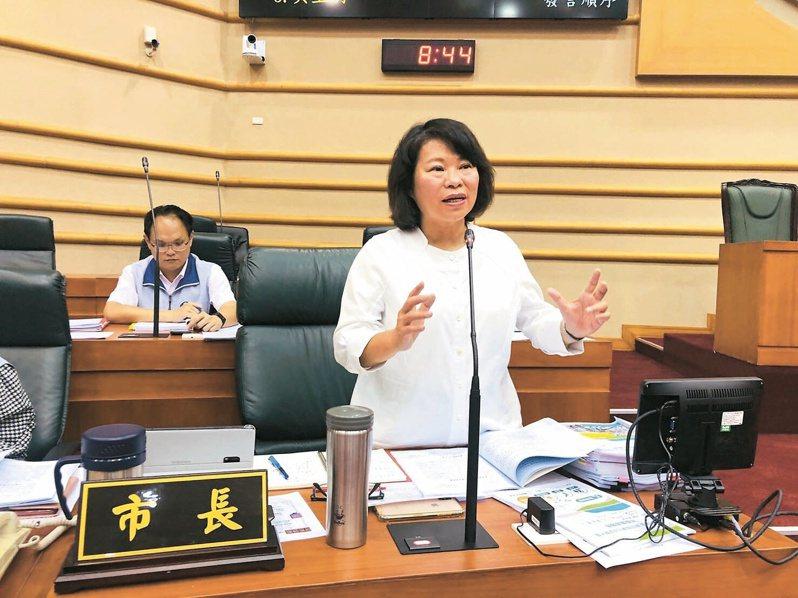 嘉義市長黃敏惠說,尊重高雄市民的選擇。本報資料照片
