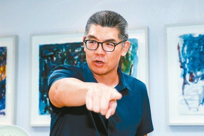 國民黨智庫副董事長連勝文。本報資料照片