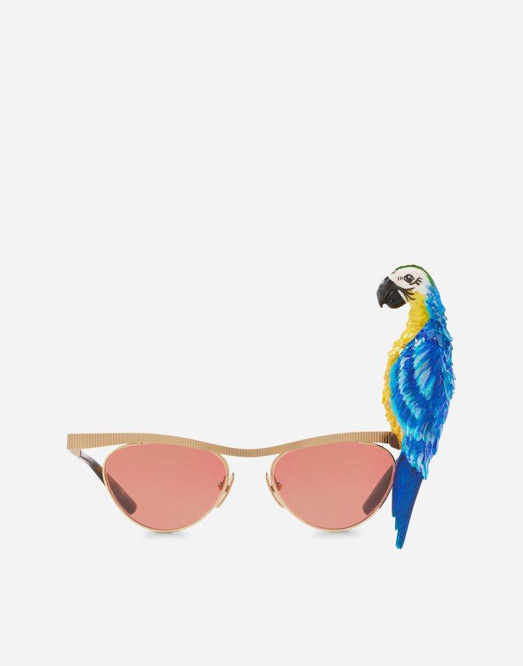 D&G Tropical Parrot太陽眼鏡,價格未定。圖/取自DOLCE &...