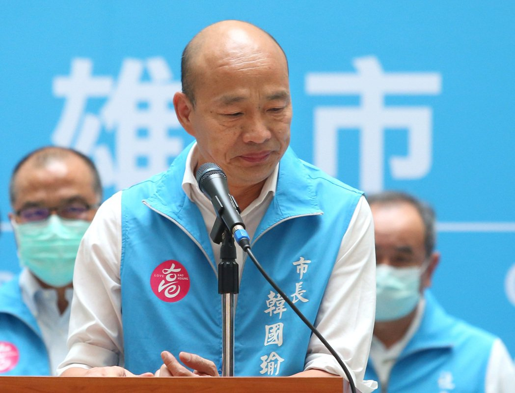 韓國瑜成為史上首位被罷免的市長。記者林澔一/攝影