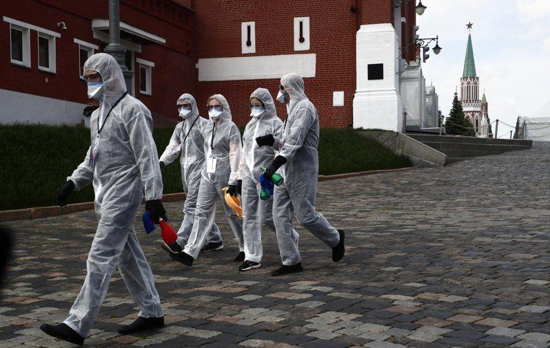 俄羅斯政府今天通報,境內新增近9000例新冠肺炎確診,累計突破50萬例大關。 歐新社