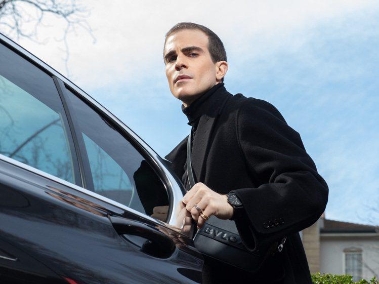 義大利時尚男模Carlo Sestini配戴BVLGARI BVLGARI城市系...