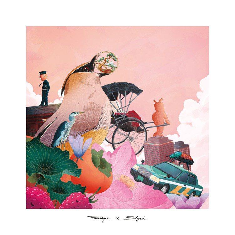 東京代表藝術家PHILIPPE CONSTANTINESCO為BVLGARI B...