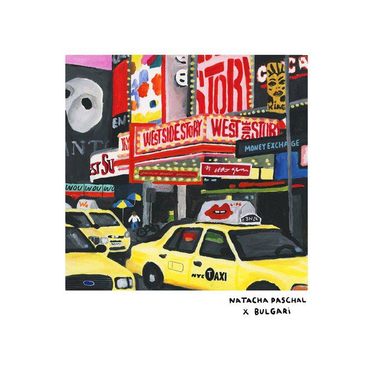 紐約代表藝術家NATACHA PASCHAL為BVLGARI BVLGARI城市...