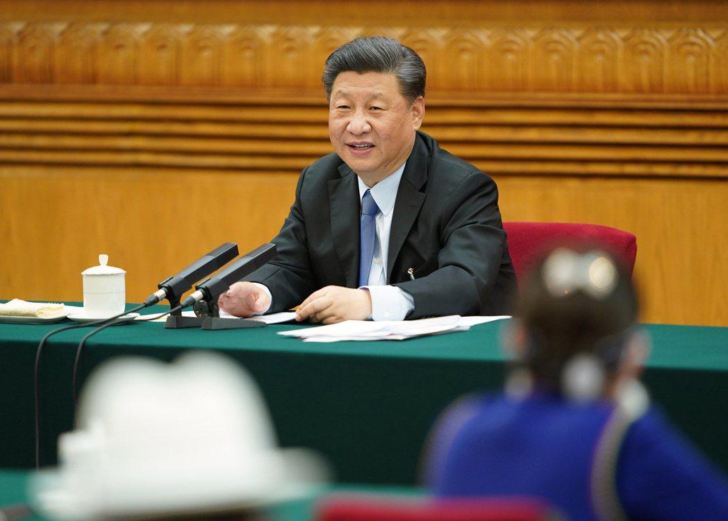 中共國家主席習近平。 新華社