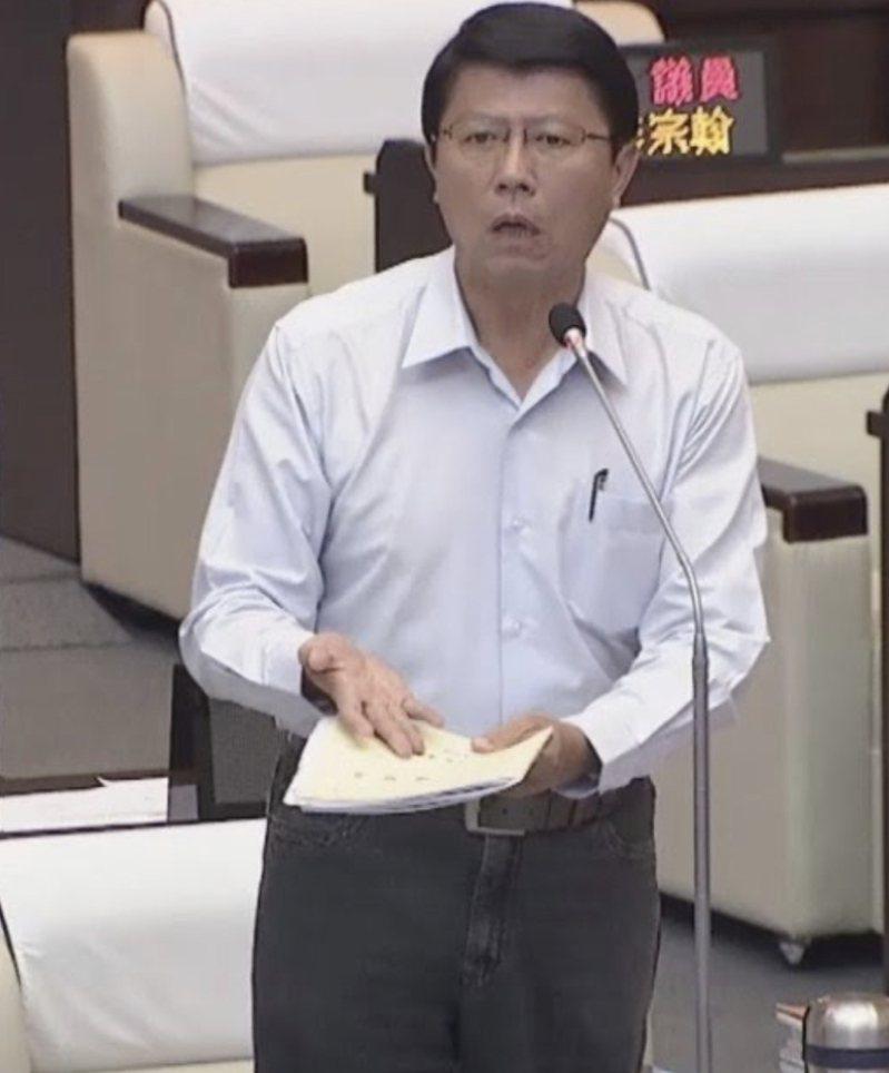 國民黨副祕書長謝龍介。圖/本報資料照片
