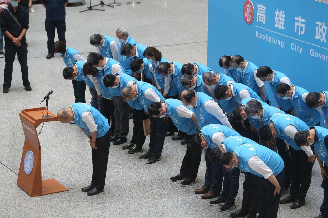 罷韓投票結果出爐,高雄市長韓國瑜成為史上首位被罷免的縣市首長。 圖/聯合報系資料照