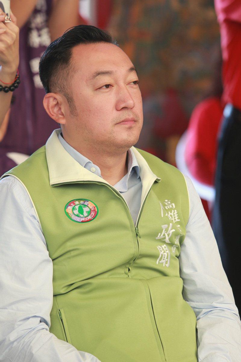 行政院南部聯合服務中心執行長陳政聞。本報資料照片