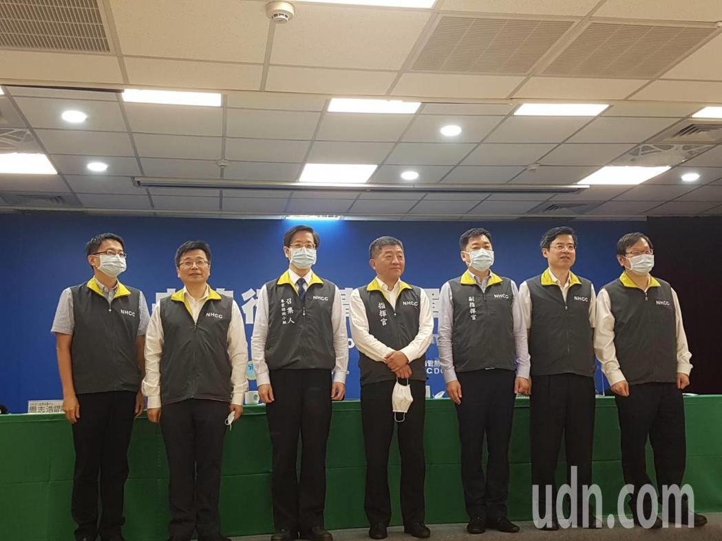 防疫團隊。記者楊雅棠/攝影